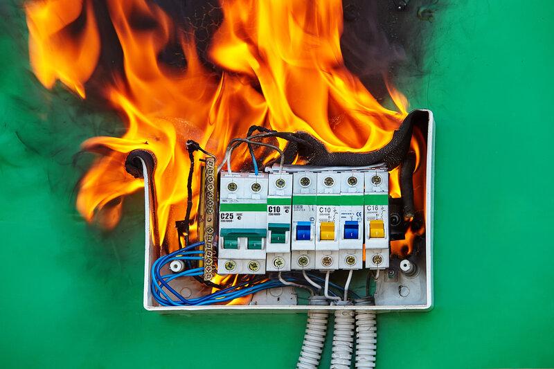 Home Inspection Lebanon Fire Hazard